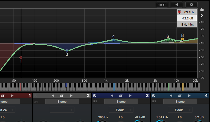 Cubase 9: Del 6 - Frequency EQ og PlugIn Sentinel