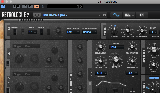 Cubase 9 - Del 5: Sidechaining i Retrologue